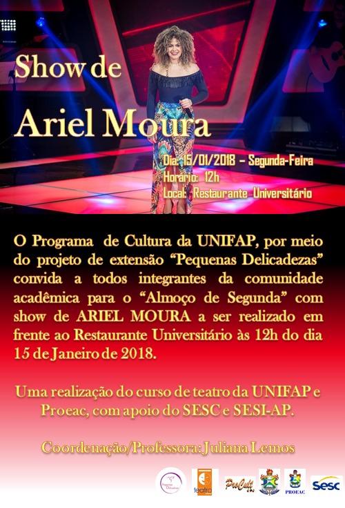 Show de Ariel Moura