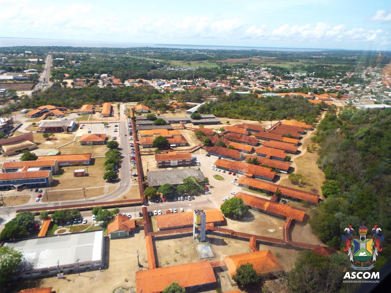 Vista aérea da Unifap